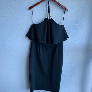 NWT Trina Turk Black Swim Halter Dress | 10